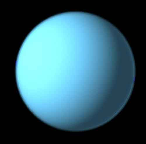 what color is uranus the planet - photo #7
